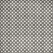 Polka Dots 36- Gray & White Paper