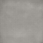 Polka Dots 36- Gray & White Paper
