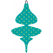 Deck The Halls- Ornament Special Shape