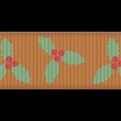 Deck The Halls- Ribbon Holly
