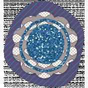 Twilight- Flower Blue