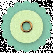 Twilight- Green Paper Flower