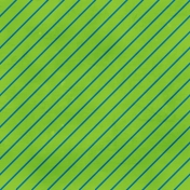 Stripes 75 - Green & Blue Paper