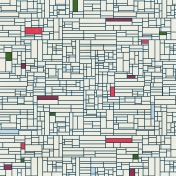 Grid 13 Paper- White