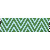 Like This Tape- Green & Blue Chevrons