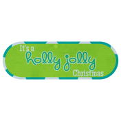Holly Jolly Tag
