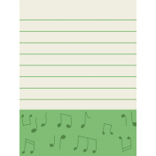 Like This Journal Card- Music