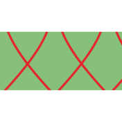 Like This Tape- Green Criss Cross