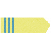 Like This Tape- Yellow Pointer Tag