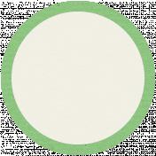 Like This Tag- Green Circle