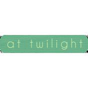 Twilight- Tag At Twilight