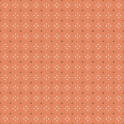 PD27- Coral & Brown