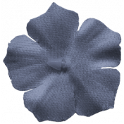 Lake District- Flower Dark Blue