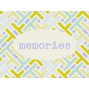 Lake District Journal Card- Memories