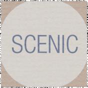 Lake District Label- Scenic