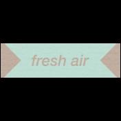 Lake District Label- Fresh Air