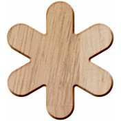Lake District Wood- Asterisk