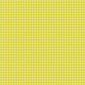 Lake District- Houndstooth Paper- Vivid Yellow