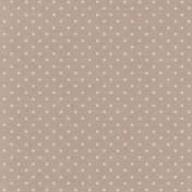 Lake District- Polka Dots Paper- Gray