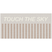 Lake District Label- Touch The Sky