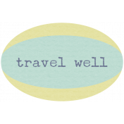 Lake District Label- Travel Well