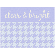Lake District Label- Clear & Bright