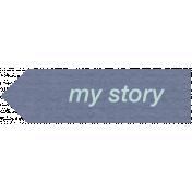 Lake District Label- My Story