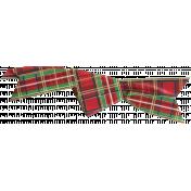 Winter Plaid- Ribbon A