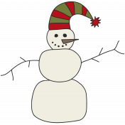 Winter Plaid- Snowman
