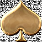 Gold Spade Shape