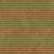Winter Plaid- Striped Paper- Green & Red