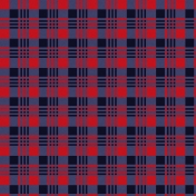 Winter Plaid- Plaid Paper- Red & Blue