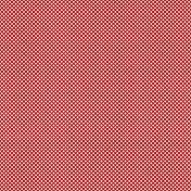 Winter Plaid- Polka Dot Paper- Red & White