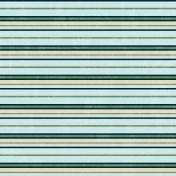 Stripes 69 Paper- Teal