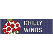 Winter Plaid Label- Chilly Winds