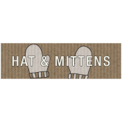 Winter Plaid Label- Hats & Mittens