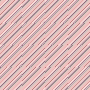 Winter Wonderland Mini Paper- Stripes