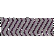 Winter Wonderland Mini Washi- Purple