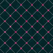Argyle 6- Navy & Pink Paper
