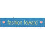 Let's Shop- Fashion Forward Label