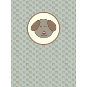 Chinese New Year Zodiac Journal Card- Dog