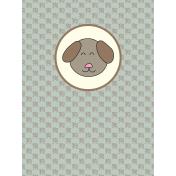 Chinese New Year Zodiac Journal Card- Dog