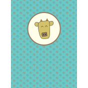 Chinese New Year Zodiac Journal Card- Ox
