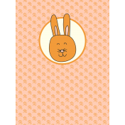 Chinese New Year Zodiac Journal Card- Rabbit