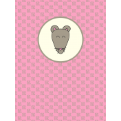 Chinese New Year Zodiac Journal Card- Rat