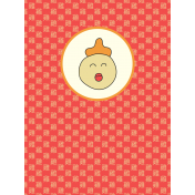 Chinese New Year Zodiac Journal Card- Rooster