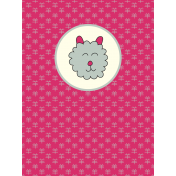 Chinese New Year Zodiac Journal Card- Sheep