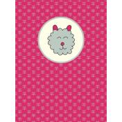 Chinese New Year Zodiac Journal Card- Sheep