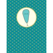 Chinese New Year Zodiac Journal Card- Snake