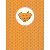 Chinese New Year Zodiac Journal Card- Tiger